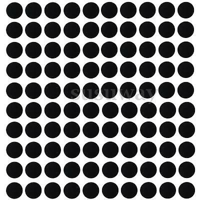 100Pcs 32mm Round Silicone Black Slot Bases Board For Wargames Table Games Model