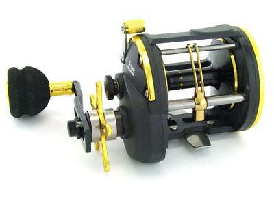SARATOGA STA Overhead Trolling Jigging Game Boat Fishing Reel Snapper Black