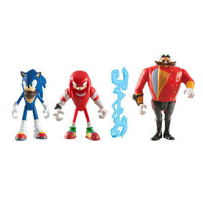 "Sonic Boom 3"" Diorama Figures - Sonic Saves the Day - Knuckles & Eggman - T22514"