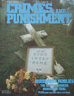 Crimes and Punishment magazine Issue 48 - Murderous Families, Manson