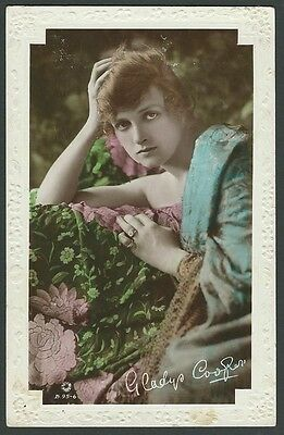 Gladys Cooper Stage & Film Actress 1917 Rotary Real Photo Postcard