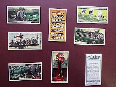 Railway Working, 2Nd Series, Issued 1927 By Churchman Set 25