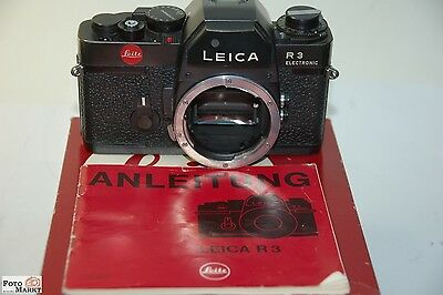 Leitz Leica R3 electronic Case with instructions black