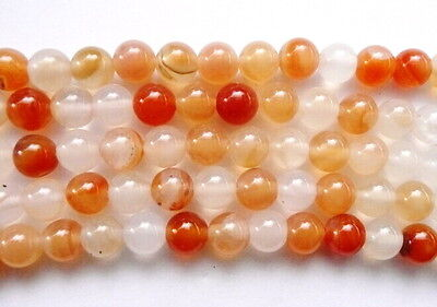 UKcheapest-Carnelian round faceted 4 6 8 10 12 14 16mm orange red