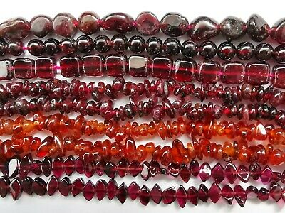 UKcheapest-100% natural Garnet round 6 8 10 12mm dark red plum gemstone beads