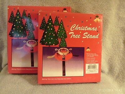 2 Christmas Tree Stands