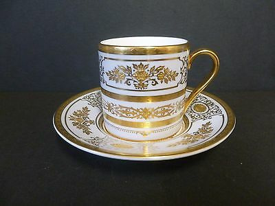 Minton Coffee Cup And Saucer Extremely Rare