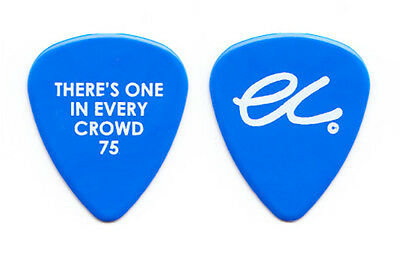 Eric Clapton Blue Guitar Pick - There's One In Every Crowd 75