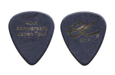 Eric Clapton Black Guitar Pick - 40th Anniversary Japan Tour - 2014