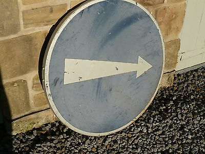 Vintage French Direction Road Sign