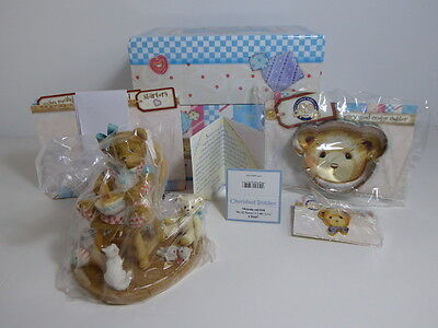 Cherished Teddies Beary Good Recipe 2011 Box Cards Cutter & Pin CT9511E CT0117