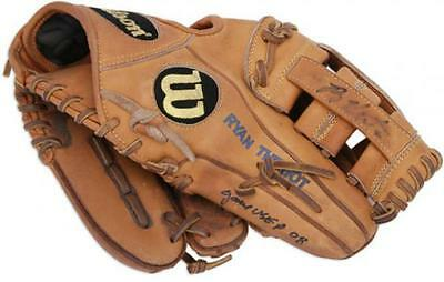 Ryan Theriot Chicago Cubs Signed 2008 Game Used Fielders Glove