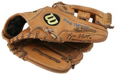 Ryan Theriot Signed Glove with Game Used 09 Inscription