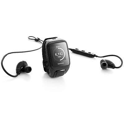 TomTom Runner 2 Cardio Music Small Heart Rate Monitor with Headphones