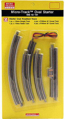 Micro-Trains MTL Z-Scale Micro-Track - Starter Pack (Straight & Curve Sections)