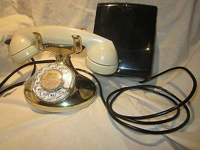 "Western Electric ""Imperial"" Model 202 Working Telephone With Subset"