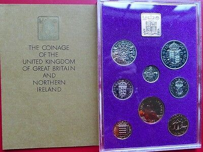 1970 Royal Mint Last £SD 8 coin PROOF set