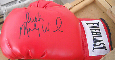 Irish Micky Ward Signed Autograph Left Everlast Boxing Glove Coa