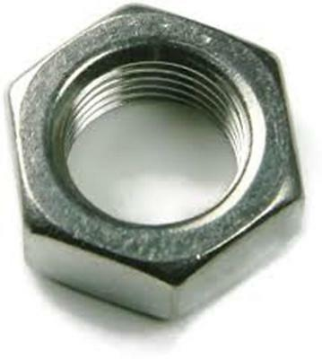 Stainless Steel Finish Hex Nuts NF 7/16-20, QTY-25
