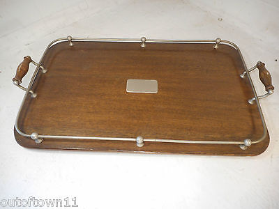 Vintage Gallery Oak Tray  ,   ref 2418