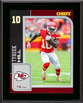 Tyreek Hill Kansas City Chiefs 10.5'' x 13'' Sublimated Player Plaque