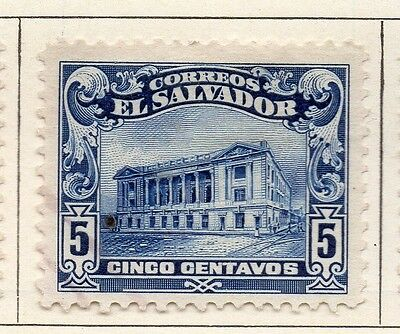 El Salvador 1916 Early Issue Fine Mint Hinged 5c. 120600