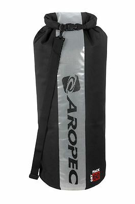 Aropec Swell-60 60L Dry Bag with Roll Top Black