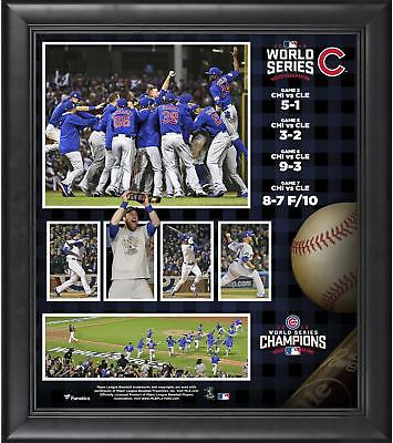 Chicago Cubs 2016 MLB World Series Champions Framed 15 x 17 Collage