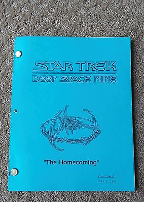 Star Trek Deep Space Nine Ds9 Tv Series Show Script Episode The Homecoming
