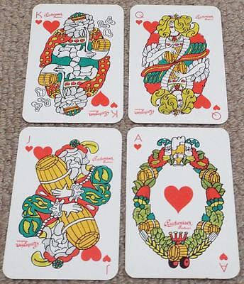Budweiser Budvar Lager - Vintage Pack of Breweriana Non Standard Playing Cards