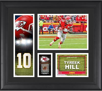 Tyreek Hill Kansas City Chiefs Framed 15x17 Player Collage with Game Ball Piece