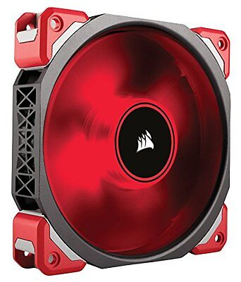 Corsair Ml120 Pro Led, Red, 120Mm Premium Magnetic Levitation Cooling Fan C New