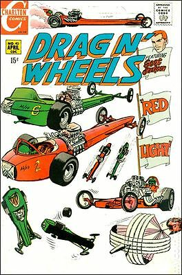 Drag N Wheels (1968) #40 VG LOW GRADE