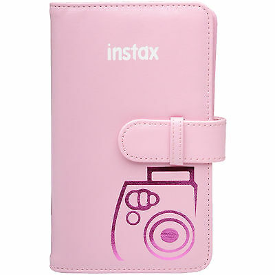 Fujifilm Instax Mini Wallet 108 Photo Album PINK for 7S 8 25 50S 90 Cameras
