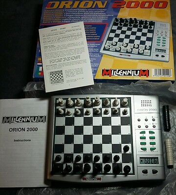 Boxed Millenium - Orion 2000 - Electronic Chess Computer - Boxed Fully Tested