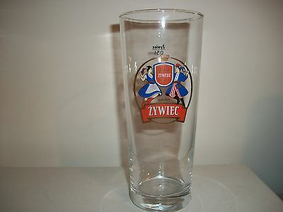 Zywiec- 0,5L- Poland Beer Glass- Perfect Condition.