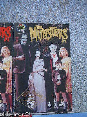 The Munsters #1 Comic Book Rare Gold Foil Cover Comic Limited Edition Only 500!