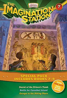 The Imagination Station Special Pack, Books 7-9: Secret of the Prince's Tomb/Bat
