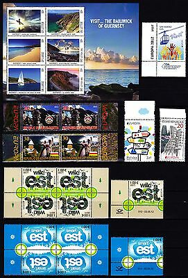 EUROPA CEPT - 2012 - 58 Different Complete Countries - The Visit ** MNH