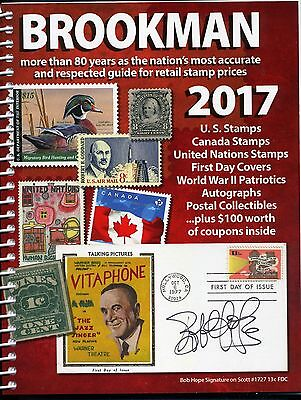 2017 Spiral Bound Brookman Price Guide Full Color - Brand New