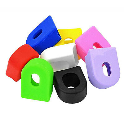 1Pair Mountain Bike Road Bicycle Cycling Crankset Crank Protective Sleeve Cover