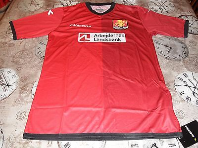 Fc Nordsjaelland European Home Shirt 2014 Large Mens Brand New Tagged