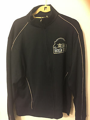 Cleveland Show Cast and Crew Track Jacket Broken Stool Seth MacFarlane Size M