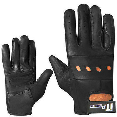 Leather soft Driving Gloves Retro style Top quality Comfort Gloves Unisex