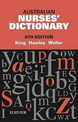 NEW Australian Nurses' Dictionary 6th Edition By King Paperback Free Shipping