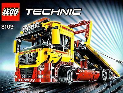 Lego Technic 8109 - Tieflader inklusive Power Function