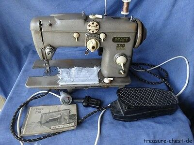 Vintage Pfaff 230-260 Automatic Industrial Strenght Sewing Machine