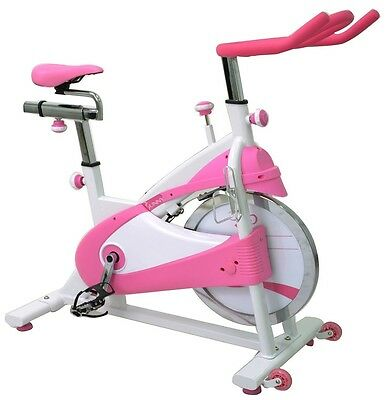 Sunny Premium Indoor Cycling Stationary Cycle Cardio Exercise Bike Pink NEW