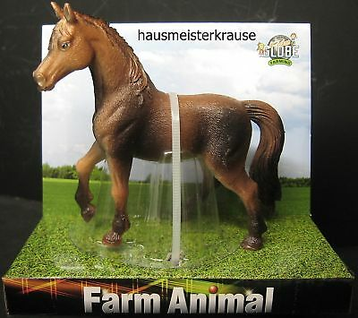 Kids GLOBE 571827 FARM Animal Pferd Horse braun Kopf li