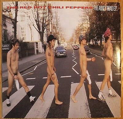 """RED HOT CHILI PEPPERS The Abbey Road EP UK 12"""" EMI 12MT 41 1988 EX/NM! 4 Tracks"""